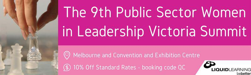 The 9th Public Sector Women in Leadership Victoria Summit 2018