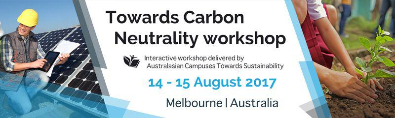 Towards Carbon Neutrality Workshop