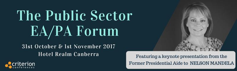 The Public Sector EA/PA Forum