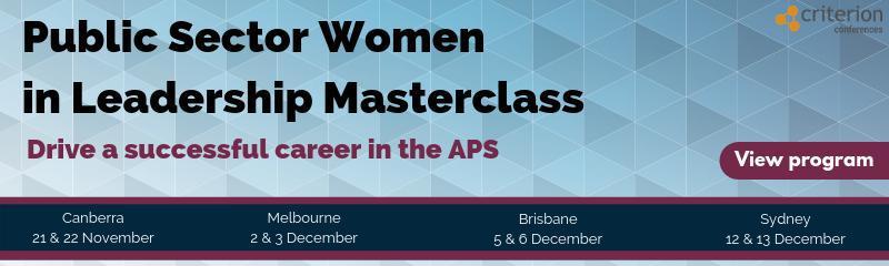Public Sector Women in Leadership Masterclass