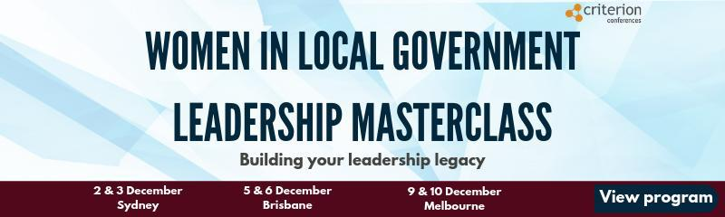 Women in Local Government Leadership Masterclass